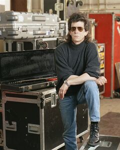 FILE - In a March 27 1989 file photo, musician Lou Reed poses at the American Sound Studio in New York. Reed's literary agent Andrew Wylie says the legendary musician died Sunday morning, Oct. 27, 2013 in Southampton, N.Y., of an ailment related to his recent liver transplant. He was 71. (AP Photo/Wyatt Counts, File)