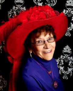 Ruth Smart, Queen of The Prairie Chicks. One of 54 Manitoban chapters of the international Red Hat Society, the Chicks will celebrate 10 years at the Westhaven retirement home on Thurs., March 21.