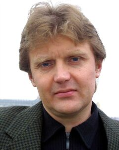 FILE - In this Friday, May 10, 2002 file photo Alexander Litvinenko, former KGB spy and author of the book