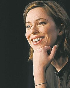 Rebecca Hall, a cast member in the mini-series