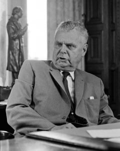 John Diefenbaker certainly had charisma, thanks to the rhetorical skills of a criminal lawyer, a fiery platform style, and a penchant for speaking in terms of grand visions.
