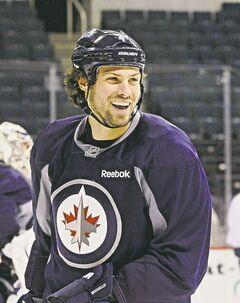 Jets defenceman Zach Bogosian.