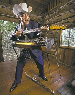 Junior Brown takes the stage at 9:30 tonight.