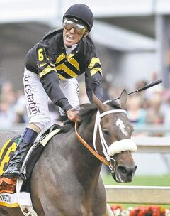 Preakness winner Oxbow, ridden by Gary Stevens, is in the Belmont field.