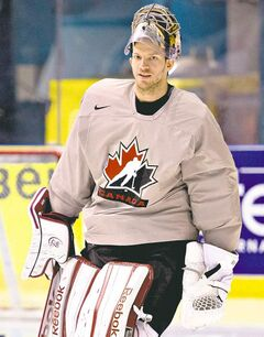 Team Canada's Mike Smith paid his dues in the minors before rising to prominence in Phoenix.