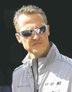 Germany's Michael Schumacher won seven Formula One titles during a dominant career.