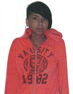 Tina Fontaine is seen in this undated handout photo. Fontaine 's killer has never been caught. THE CANADIAN PRESS/ HO, Winnipeg Police Service