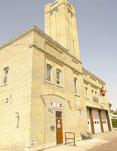 Old fire hall No. 11  on Berry: Second  proposed land-swap site