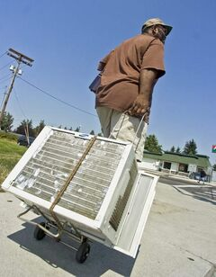 During hot weather, increased use of air conditioners can add to electrical use. Winnipeg firefighters caution against overloading electrical circuits.