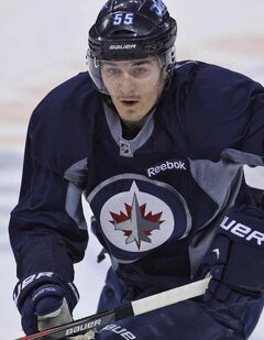 Jets centre Mark Scheifele hasn't scored a goal since the 2013-14 season opener, which was 22 games ago.