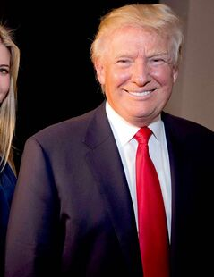 Donald Trump, right, and his daughter Ivanka are wrapping up a lease agreement with the federal government that will allow their company to begin transforming the Old Post Office Pavilion in Washington into a Trump-brand hotel. Illustrates TRUMP (category f), by Jonathan O�Connell, (c) 2013 The Washington Post.  Moved Thursday April 11, 2013. (MUST CREDIT: Washington Post Photo by Jeffrey MacMillan).