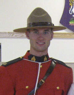 Gypsumville RCMP Const. Fraser Potts.