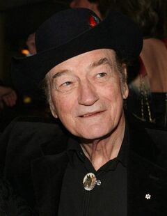 This file photo shows Canadian music legend Stompin' Tom Connors prior to the 20th annual SOCAN Awards gala in Toronto, Nov. 23, 2009. The country-folk performer, whose toe-tapping musical spirit and fierce patriotism established him as one of Canada's strongest cultural icons, died March 6. He was 77.