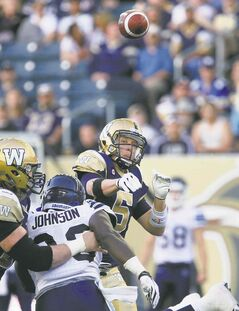 Quarterback Drew Willy had a memorable debut for the Blue Bombers last week. Can he replicate that success tonight against Ottawa?