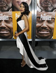 Kerry Washington arrives at the world premiere of