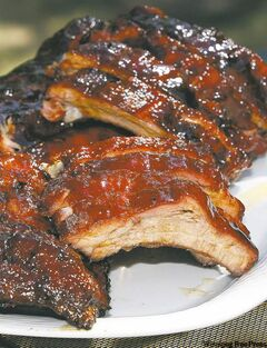 Bite into Bernie's barbecue ribs.