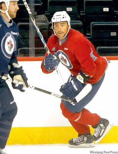 Winnipeg Jets' Dustin  Byfuglien has made coach Claude Noel take notice.