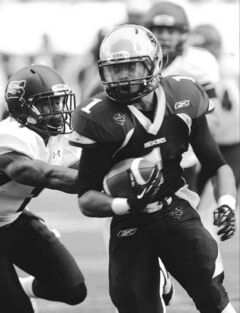 University of Manitoba Bisons running back Anthony Coombs has been dominant on the run, but his draft eligibility has to wait till next year.