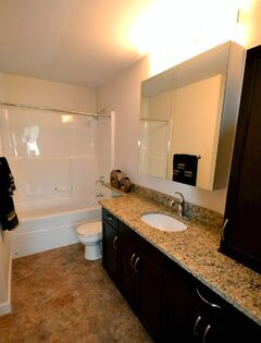 Main baths will be large and well-appointed with soaker tub, granite countertops and designer cabinetry.