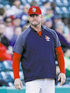 Goldeyes manager Rick Forney: 'Our mettle is being tested a bit right here.'