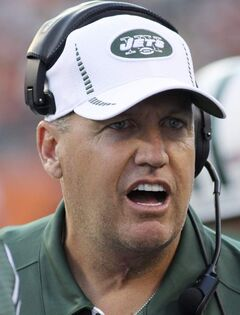 New York Jets coach Rex Ryan teed off on players who made derogatory comments anonymously.