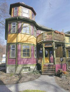O'Malley moved his business to his fairy-tale Wolseley home after a spell in Osborne Village.