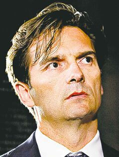 Oilers head coach Dallas Eakins