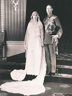 April 23, 1923: Prince Albert, the Duke of York, marries Lady Elizabeth Bowes-Lyon.
