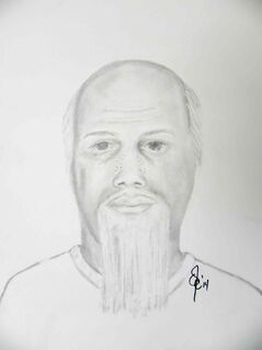 A police sketch of a suspect who approached two boys in Île des Chênes.
