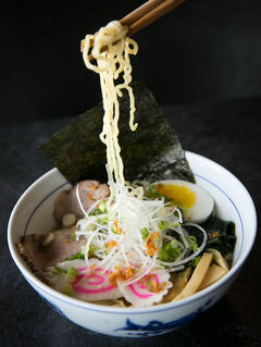 Shio Ramen at Kyu Bistro