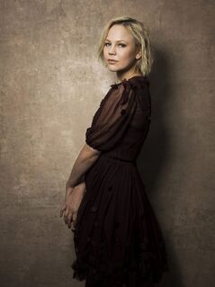 FILE - This Jan. 18, 2013 file photo shows Adelaide Clemens from the series
