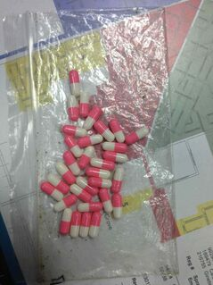 Police located a large number of ecstasy pills inside a vehicle at a traffic stop in Steinbach.