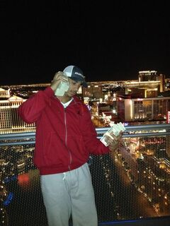 Evander Kane sent out this picture on his Twitter account, saying