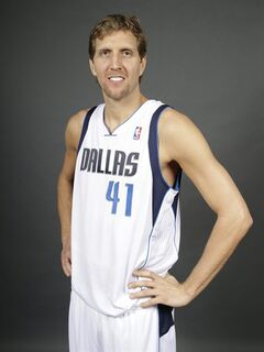 File-This Oct. 2, 2013, file photo shows Dallas Mavericks power forward Dirk Nowitzki possing for a photo during media day in Dallas. (AP Photo/LM Otero, File)