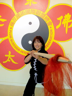 Peggy McRitchie has followed in my father's footsteps and opened Plum Blossom Martial Arts Academy. It has always been a dream of hers, and after so many trails and tribulations, it has finally come true.
