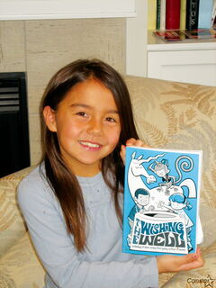 Headingley area student gets her 'wish' by having short story published  in national collection.