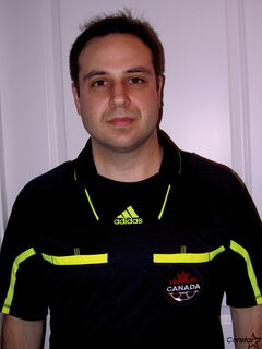 Peter Manastyrsky is Manitoba's lone soccer referee on the national list.