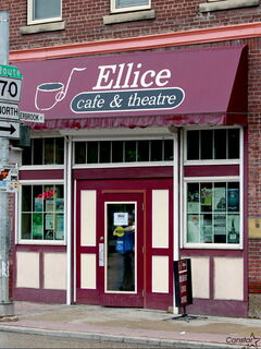 New Life Ministries, which owns the Ellice Cafe and Theatre in the West End, continues to seek community-minded developers to purchase the space.
