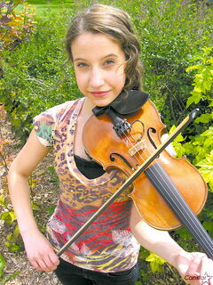 Émilie Chartier is among the fiddlers set to appear at a showcase on July 6.
