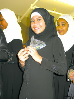 Students during Alhijra Islamic School's recent Hajj Day.
