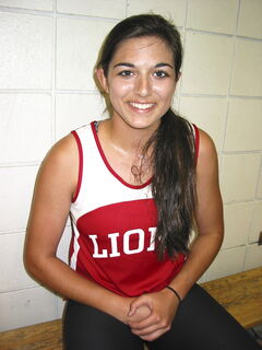 Multiple medal-winning athlete and honours student Kennadie Chaudhary always gives 100%, says her coach.