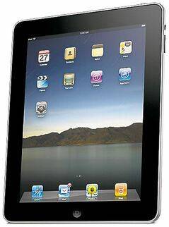 In this product image released by Apple Inc., the Apple iPad is shown.