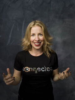 Filmmaker Tiffany Shlain predicts every human being will be online by 2025.