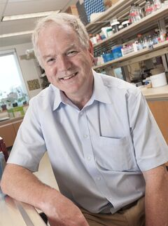 Michael Houghton, a professor of microbiology and immunology at the University of Alberta, is shown in a handout photo. The Gairdner Foundation announced the winners of its prestigious international awards for medical research Wednesday, but one of the recipients, Houghton, turned down the $100,000 prize because two key collaborators weren't included. THE CANADIAN PRESS/HO-University of Alberta-Michael Holly