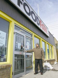 Resident Bill Kovaltchouk regularly frequented the area Food Fare but found the doors locked on Wednesday.