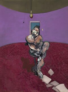 In this undated photo made available by in London, Wednesday, Jan. 15, 2014, a reproduction of a portrait painting by Francis Bacon is shown. THE CANADIAN PRESS/AP, Christie's