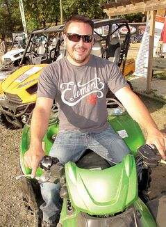 Kevin Klaasen is one of the organizers of the St. Jean ATV Derby. More than 150 volunteers help make the event an annual success.