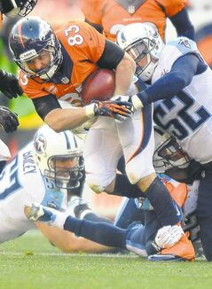 Denver Broncos wide receiver Wes Welker suffered two concussions in four games.