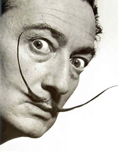 Artist Salvador Dali, in a 1953 portrait. Dali's work is coming to The Winnipeg Art Gallery in September.