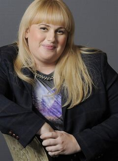 FILE - In this Thursday, Aug. 23, 2012 file photo, actress, writer and comedienne, Rebel Wilson, a cast member in the film